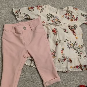 Old Navy spring outfit 3-6 mo